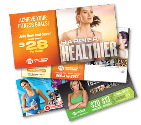Targeted Direct Mail for Health Clubs