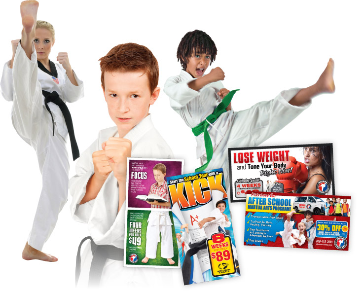 Martial Arts Direct Mail Promotions