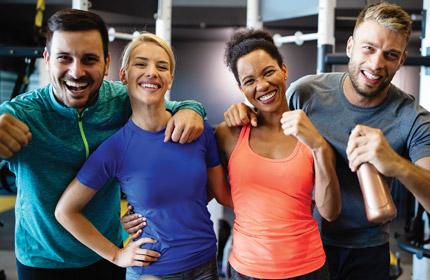 fitness marketing company