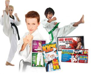 direct mail for martial arts