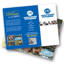 fitness marketing brochure