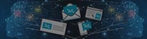 digital ads and print ads dark overlay