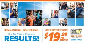 health club summer promotion direct mail
