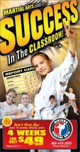karate back to school postcards