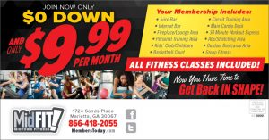 back to school fitness promotion