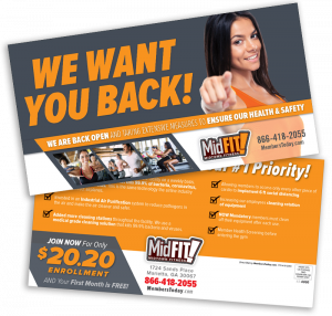 we want you back postcard