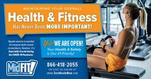covid fitness marketing promotion