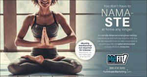 yoga fitness promotion